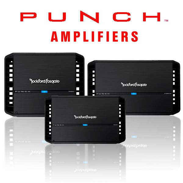 Car Punch Amplifiers