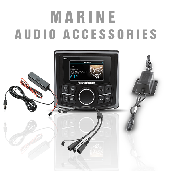 Marine Audio Accessories
