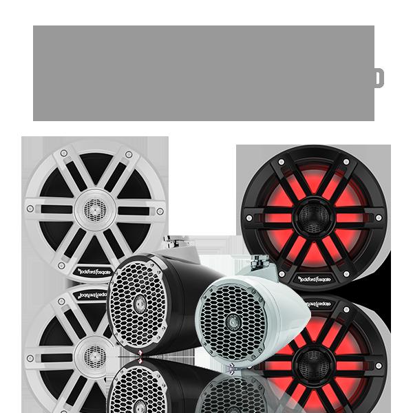 Marine Speakers & Wakeboard Tower Speakers