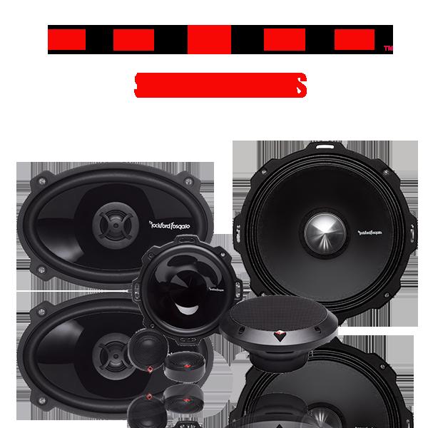 Car Punch Speakers