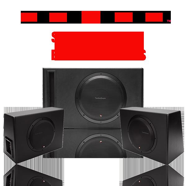 Car Punch Subwoofer Enclosures